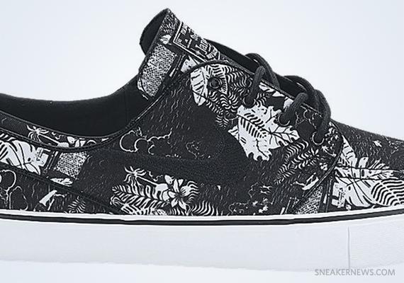 """brand new dccc7 37353 Nike Stefan Janoski """"Black Floral"""""""