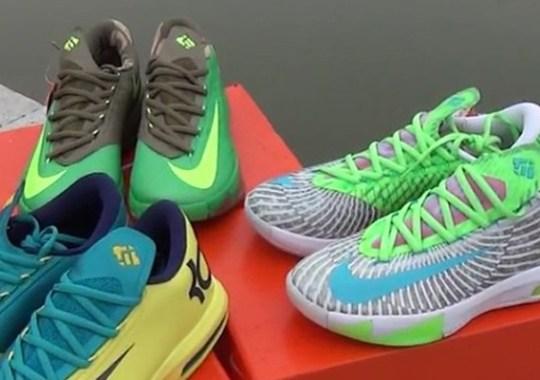 Nike KD 6 – Upcoming Colorways