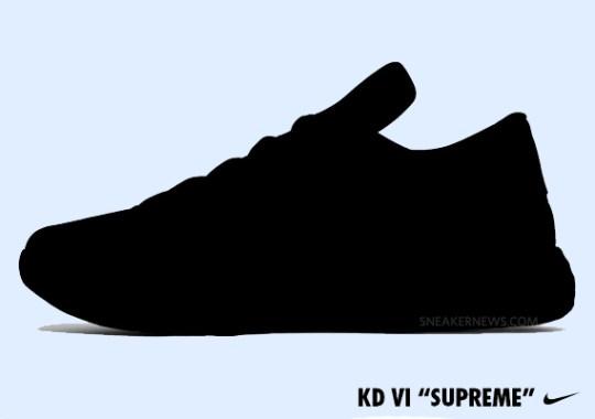 """Nike KD VI """"Supreme"""" – Release Date"""