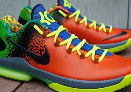 "Nike KD V Elite ""Anti-Nerf"" Customs by Rise Above"