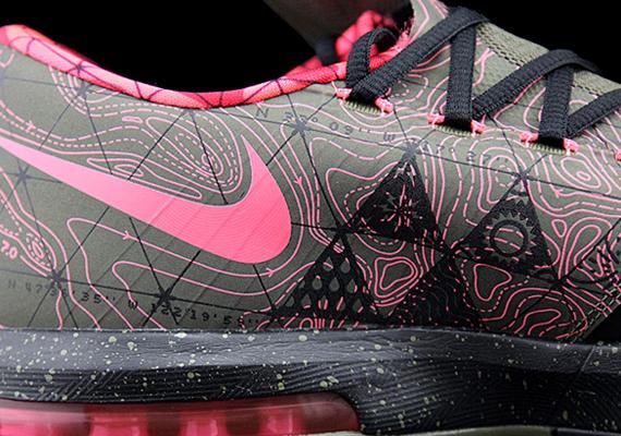 Nike KD VI - Black - Atomic Pink