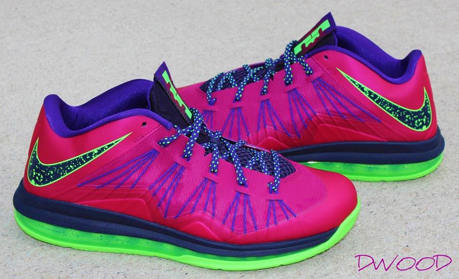 Nike LeBron 10 Low - R...
