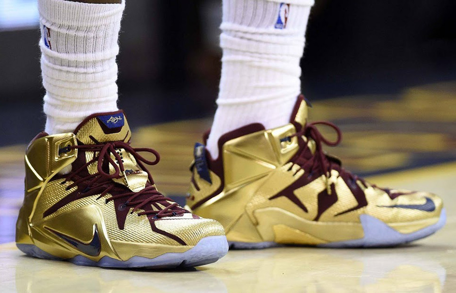 64b419a32f0 A Timeline of LeBron James  Career As Told By Nike Sneakers ...