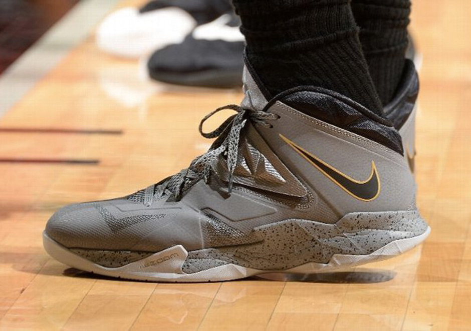 12a01f79ebc2 A Timeline of LeBron James  Career As Told By Nike Sneakers ...