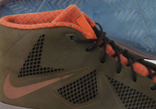 "Nike LeBron X NSW Lifestyle ""Dark Olive"""