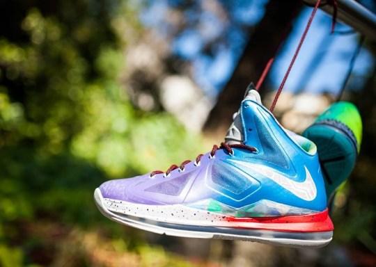 """Nike LeBron X """"What the LeBron"""" by JP Custom Kicks"""