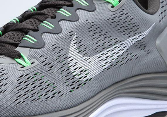 Nike LunarGlide+ 4 Wolf Grey Volt