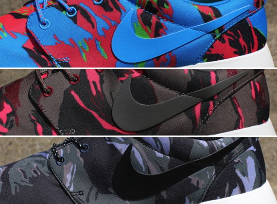 """sports shoes 9fe7e c6435 Nike Roshe Run GPX """"Camo Pack"""" – Available"""