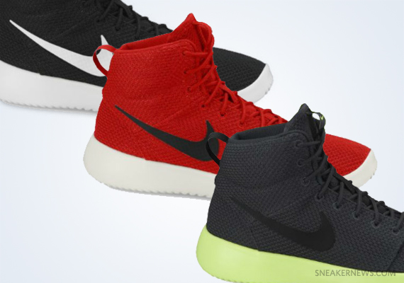 Nike Roshe Run High - Upcoming Colorways - SneakerNews.com Nike Roshe Run 2017 Colorways