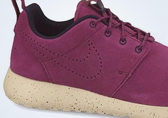 nouveau concept dc59c fba87 Nike Roshe Run Suede - Maroon - Beige - SneakerNews.com