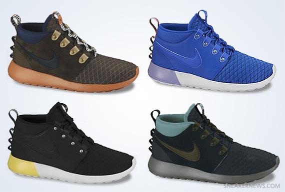 Nike Roshe Mid Winter Stamina Big Kids Shoe