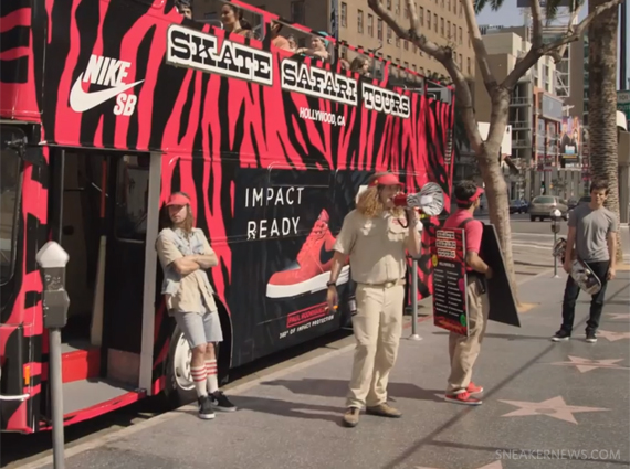 Nike Skateboarding Safari Tour with the P-Rod 7