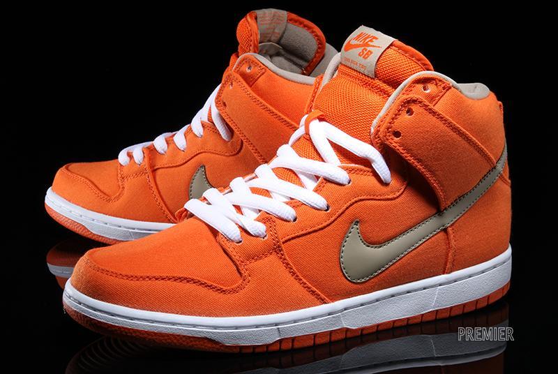 designer fashion 7fa02 f7dba ... buy nike sb dunk high urban orange white bamboo sneakernews 86058 7ee7d