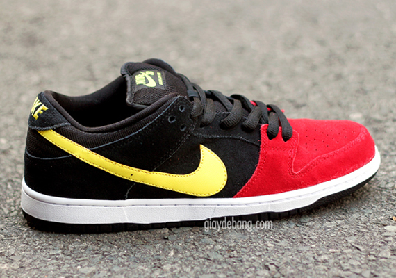 order best sell lower price with Nike SB Dunk Low - Red - Black - Yellow - SneakerNews.com