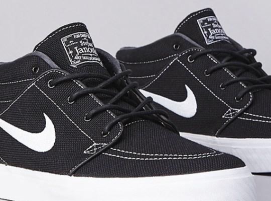 Nike Stefan Janoski Mid – Black – White
