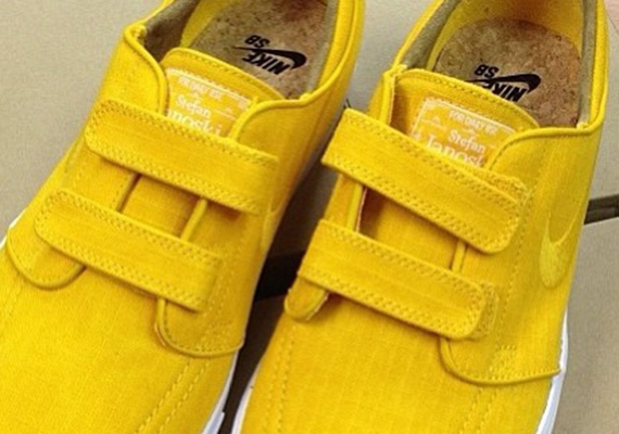 Nike Stefan Janoski Velcro quot Yellow Rip Stopquot