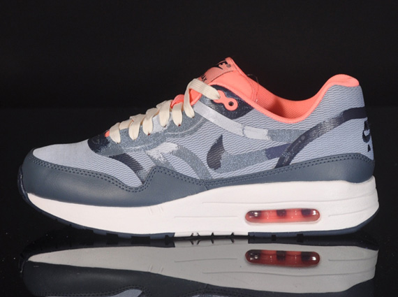 cheap for discount bbffe 8fb79 Light Armory Blue Armory Slate-Atomic Pink 599895-446 · chic Nike Air Max 1  CMFT PRM Tape quotCamoquot