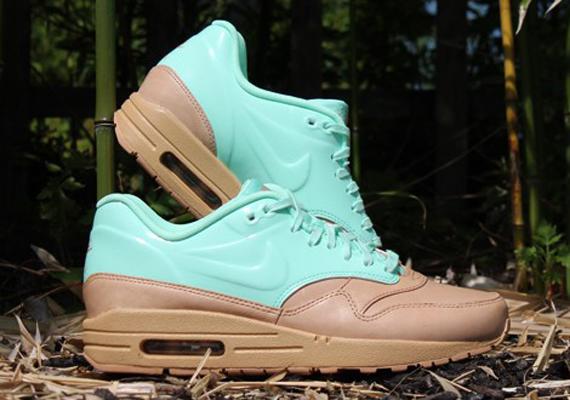 Femmes Nike Air Max 1 Vt Qs - Talons Beige / Rose Nice meilleur gros grosses soldes 2014 nouveau 6rrhW2g9