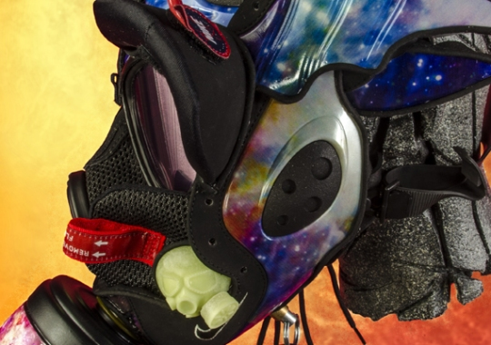 """Nike Zoom Rookie """"Galaxy"""" Gas Mask by Freehand Profit"""