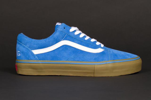 light blue old skool vans tyler