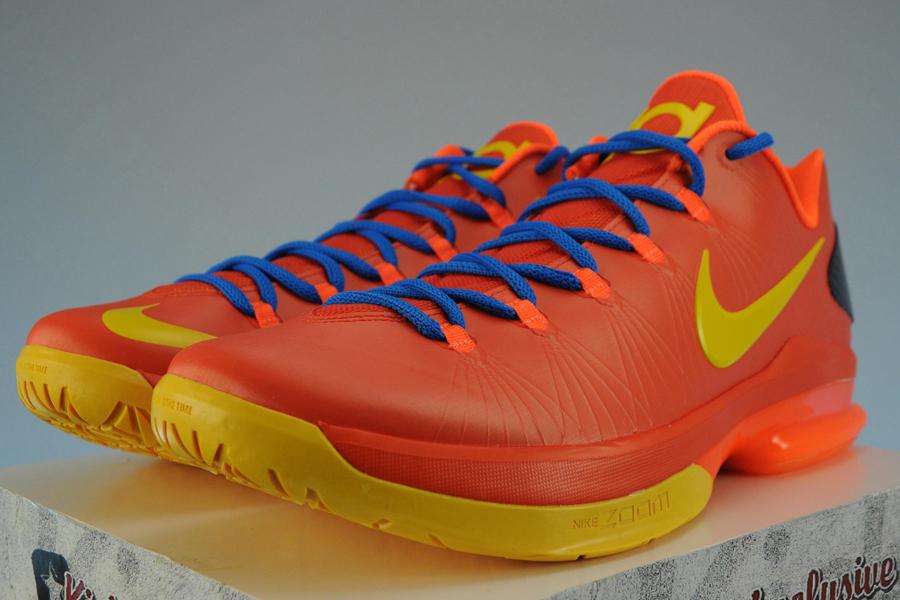 "Nike KD V Elite ""Team Orange"" - Available Early on eBay ..."
