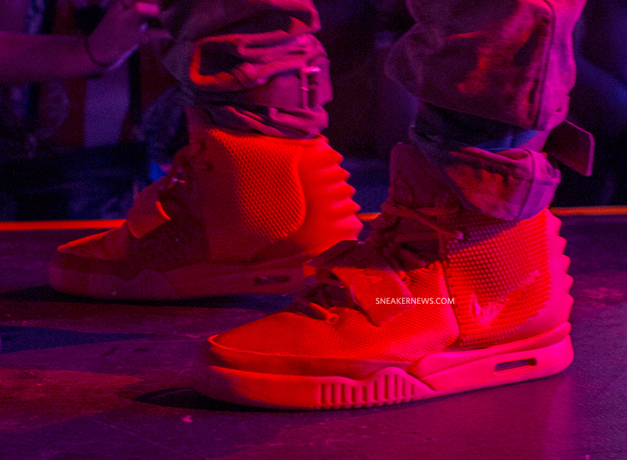 04850176528 Red Nike Air Yeezy 2
