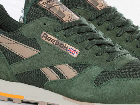 f6dbad2a76906 Reebok Classic Leather - Olive - Green - Beige - SneakerNews.com