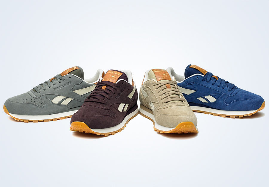 reebok classic leather suede pack july 2013