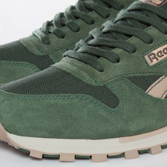 Reebok Classic Leather - Olive - Green