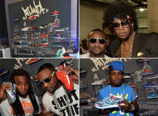 Reebok Classic VIP Suite at the Hot 107.9 Birthday Bash