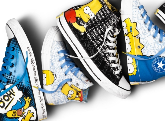 The Simpsons x Converse Chuck Taylor All-Star Collection