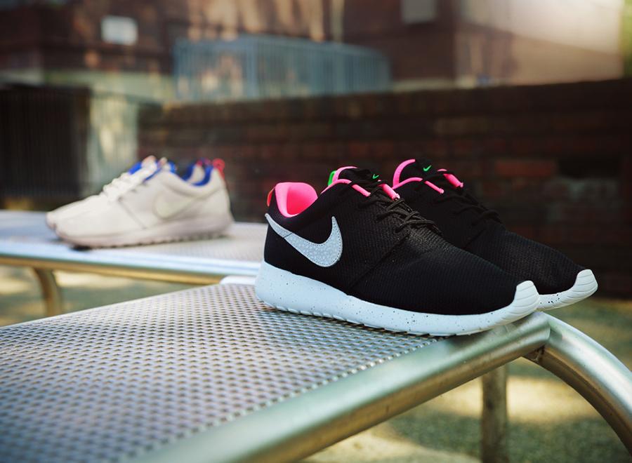 xhwinq Girls Pink Nike Roshe Run Mesh Youth Trainers | schuh | roshe