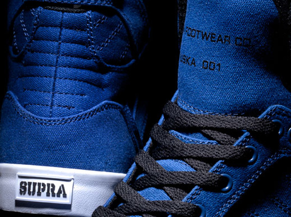 Supra Skytop Canvas – June 2013 Colorways