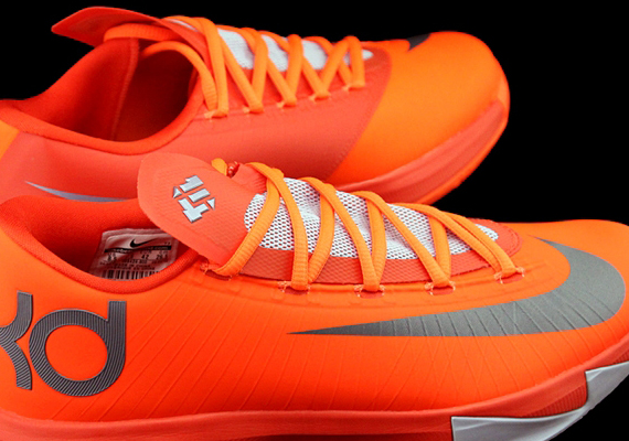 "detailed look 77d99 b8f27 Nike KD 6 ""Total Orange"""