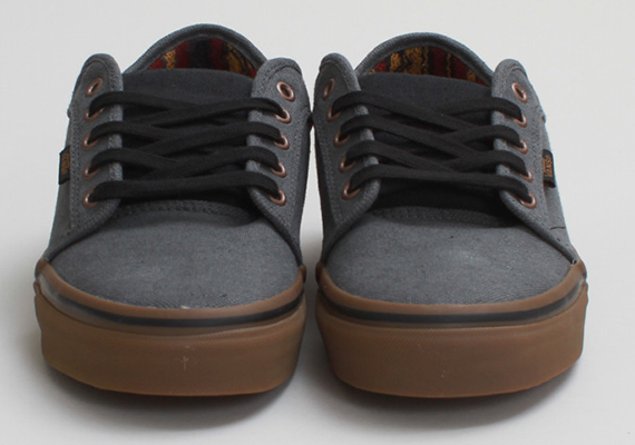 ... opting for a grey hemp upper atop gum sole for a tastefully neutral  look. Check out more images below 3b76de5a1