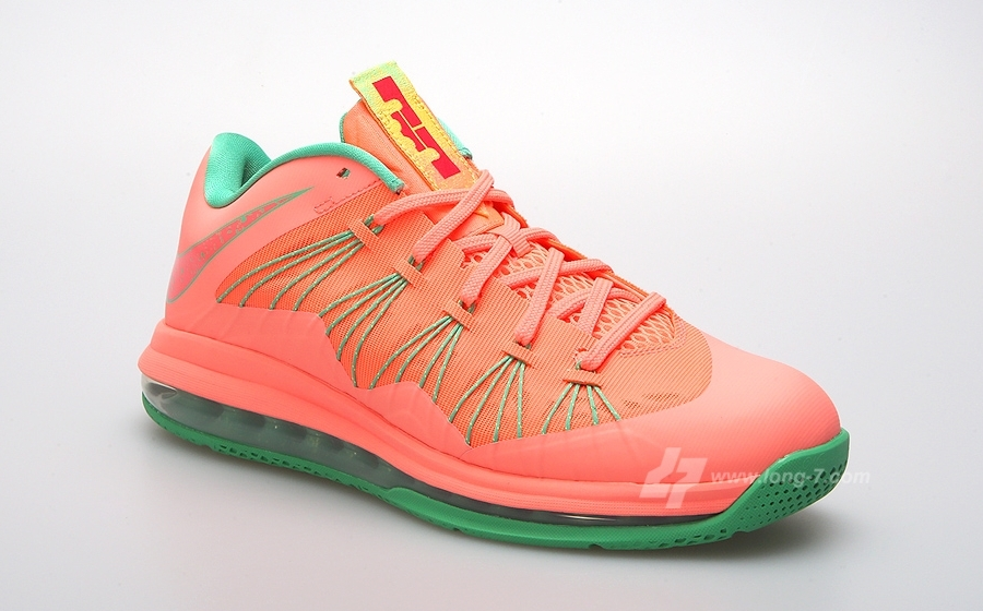 "b3b65d636a3b ... Foot Locker Blog. Nike LeBron 10 Low ""Watermelon"""