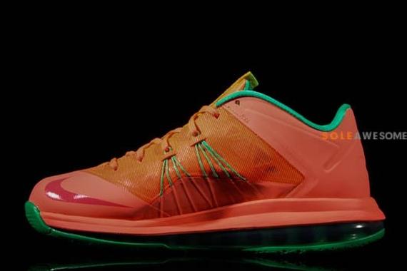 """""""Watermelon"""" Nike LeBron X Low - SneakerNews.com"""