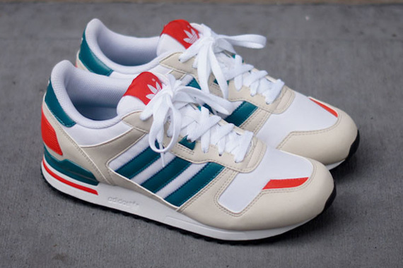 sale retailer 689db 95a39 adidas originals zx 700 Orange adias originals zx 700 white teal ...