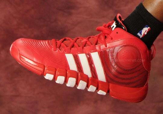 "Dwight Howard in adidas adiPower Howard 4 ""Houston Rockets"" PE"