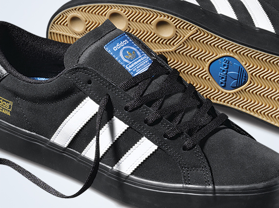 low priced e82fb 2f778 ... shoes 2379c 23803 store adidas skate americana vin black white gum  sneakernews 383ad f9276 ...