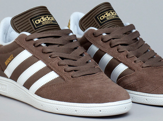 wholesale dealer b600a 86b39 adidas Busenitz – Cargo Brown – Metallic Gold