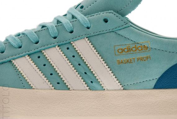 brand new e14b5 46728 durable service adidas Originals Basket Profi Lo OG Clear Green Ecru