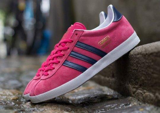 adidas Originals Gazelle OG – Pink – Navy