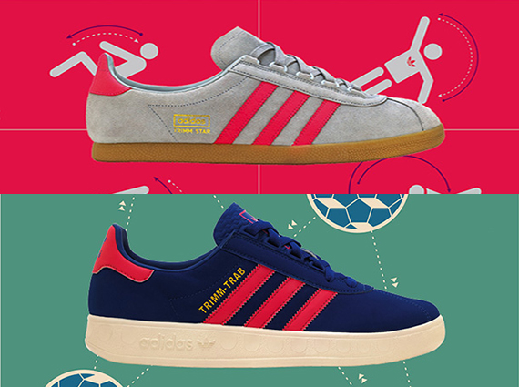 best loved 549cd 98363 adidas Originals Trimm-Trab + Trimm Star – Size  Exclusives