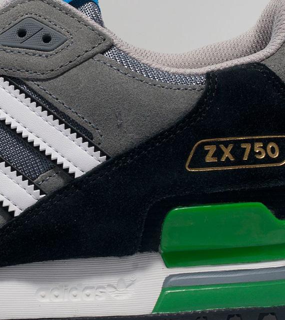Adidas Zx 750 Grågrønn NLhiE