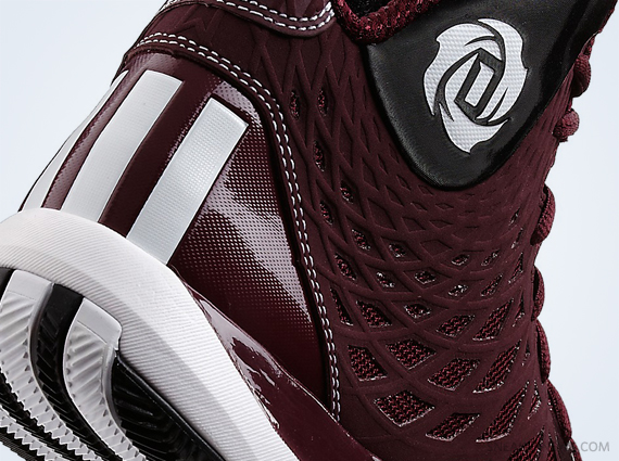 adidas Rose 773 2 Light Maroon White