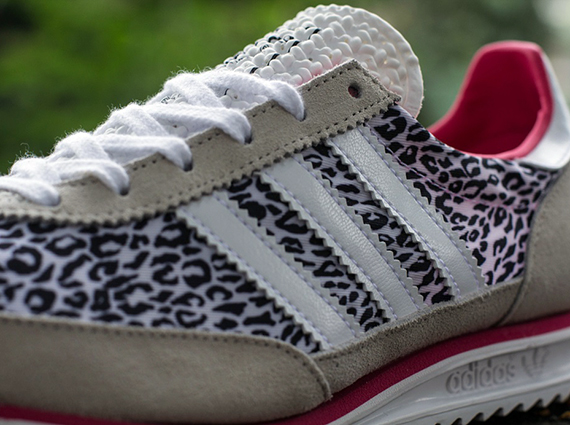 adidas leopard trainers