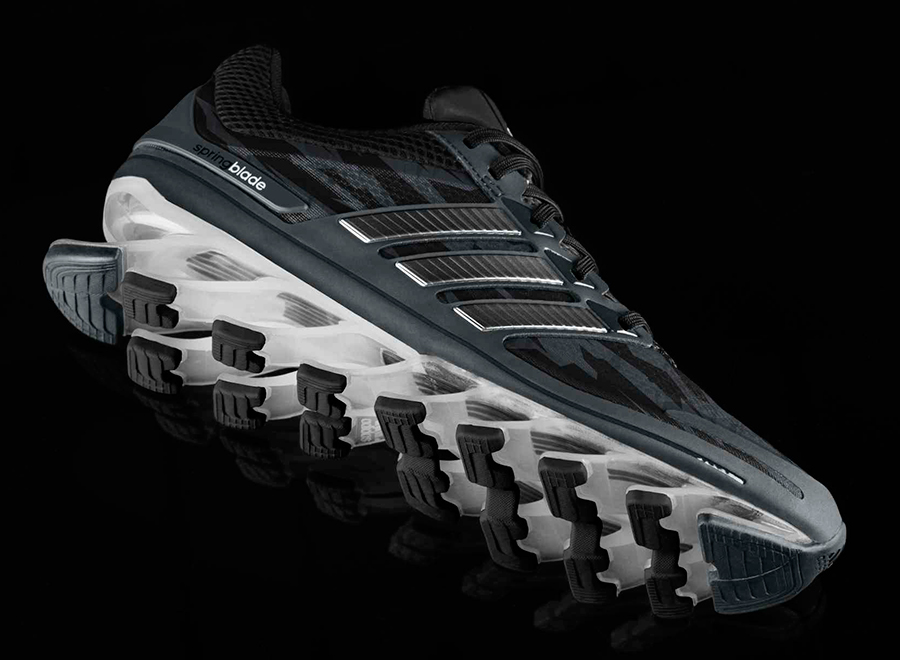 huge discount 8975a dd2e8 adidas springblade black