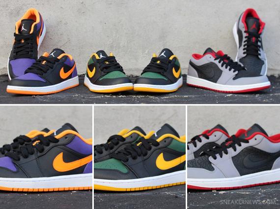 72de7182f279 Air Jordan 1 Low - July 2013 Releases - SneakerNews.com