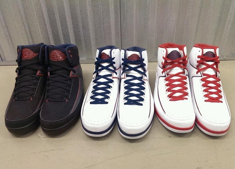 air jordan ii joe johnson pe set on ebay sneakernewscom